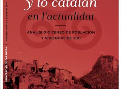 «L'aragonés y lo catalán en l'actualidat» Analisi Censo 2011
